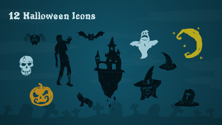 Free halloween powerpoint template powerpoint tips and tutorials free halloween powerpoint template icons toneelgroepblik Images