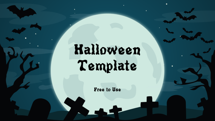 free halloween powerpoint template powerpoint tips and tutorials. Black Bedroom Furniture Sets. Home Design Ideas