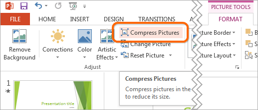 How to Reduce the Size of a PowerPoint File | PowerPoint ...