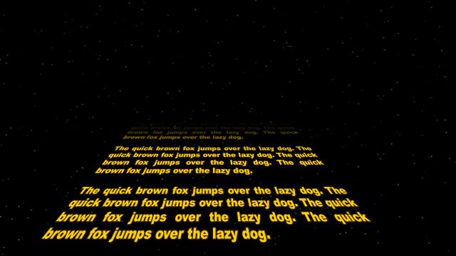 how to create a star wars intro crawl in powerpoint 2013, Modern powerpoint
