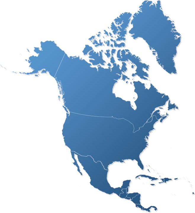 north america map powerpoint  pacqco