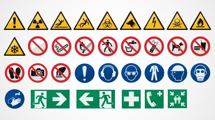 Safety Signs For Powerpoint Shapechef